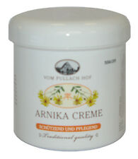6x 250ml Arnica crema per la cura Traditional Quality Pullach HOF