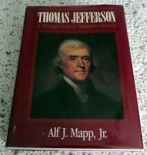 THOMAS JEFFERSON STRANGE CASE OF MISTAKEN IDENTITY by ALF J. MAPP SIGNED 1ST ED