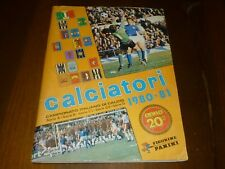 ALBUM CALCIATORI PANINI 1980-81 COMPLETO - 25 FIGURINE - OTTIMO !!