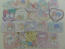 45 Sanrio Little Twin Stars flake sack stickers HTF cute kawaii Gift special Lot