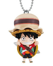 Bandai One Piece Anime Stampede Swing Keychain Figure Luffy Law Nami Set 6 Pcs