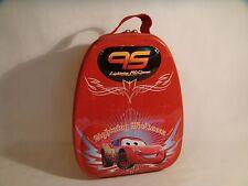 DISNEY CARS LIGHTNING MCQUEEN 95 FORMULA RACER Tin / Lunch Box / Case Bag *RARE*