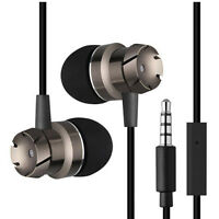 3.5mm  Mic Super Bass Music In ear Stereo Headphone Headset Earphone Earbuds