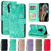 For Nokia 5.3 2.3 1.3 7.2 6.2 Lace Wallet Flip Stand Leather Phone Case Cover