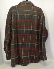 ORVIS THE PERFECT FLANNEL SHIRT Heavy Wgt Sz XXL Plaid NEW WITH TAGS Retails $79