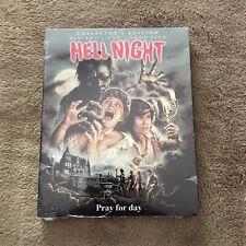Scream Factory HELL NIGHT BLU RAY NEW w/slipcover Case Linda Blair Horror