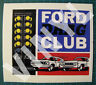 "Ford Drag Club - Drag Racing Vinyl Decal Sticker Vintage Style - 4 3/4 X 4""-NHRA"