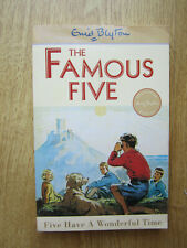ENID BLYTON  FAMOUS FIVE  FIVE HAVE A WONDERFUL TIME  PAPERBACK NO 11 in series