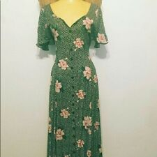 New listing Vintage 90s Button-Front Floral Starina Dress