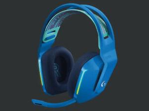 Blue Logitech G733 Lightspeed Wireless Gaming Headset, Brand New
