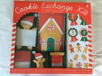 Meri Meri Cookie Exchange Kit Christmas Holiday Baking Party of 12 NEW