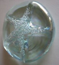 Edworx Clear Crystal Paperweight.