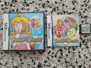 Super Princess Peach (Nintendo DS, 2006) - NTSC US FORMAT