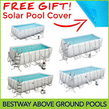 Bestway Above Ground Swimming Pool - Rectangular - Filter Pump - 5 Model