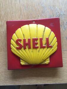 shell vintage petrol pump fitting sign