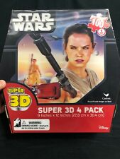 Star Wars 3D Puzzle 4 Pack New