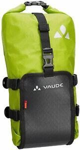 Vaude Bike Bag Pannier TRAILMULTI 5L Black and Green