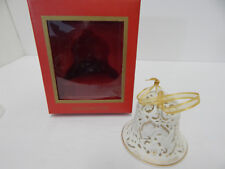 """Wedgwood 2004 """"Our 1St Christmas"""" Pierced Bell"""