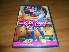 Katy Perry: Part of Me (DVD, 2012,Widescreen) Used