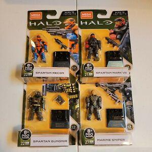 Halo Infinite Mega Construx 4 figure lot Series 12 NEW FACTORY SEALED