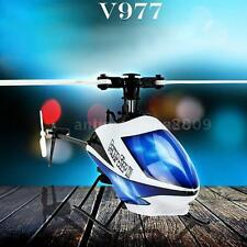 WLTOYS V977 POWER STAR X1 6CH 2.4G BRUSHLESS 3D FLYBARLESS RC HELICOPTER U9K7