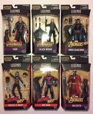 Marvel Legends Cull Obsidian series complete 6 figure set MIP 2018
