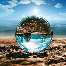 Clear Crystal Ball | 60mm K9 Glass Lens Sphere | Photography & Decoration | USA