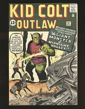 Kid Colt Outlaw # 107 - Kirby sci-fi cover Fine Cond.