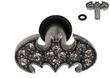 Earrings Rings Fake Batman Cheater Plug 12 gauge - Sold as a pair