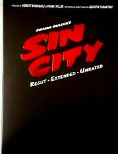 Sin City by Frank Miller. Dvd plus Graphic Novel .Uncut, Extended, Unrated