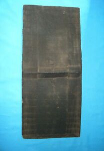 Antique Topoke tribe shield, Congo, Africa, no knife, dagger, sword,