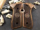 Beretta 92F, 92FS, M9, 96 Turkish Walnut Wood Grips Handmade. US Based Seller