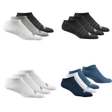 adidas 3s Performance No Show HC 3pp Pack of 3 Sports Socks White Aa2279 39-42
