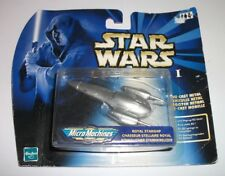 STAR WARS EPISODE 1 MICROMACHINES ROYAL STARSHIP BRAND NEW SEALED FREE P&P