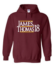 Lebron James Isaiah Thomas Cleveland Cavaliers James 17 shirt Hooded Sweatshirt