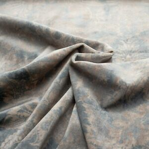 Premium quality thick velvet upholstery floral pattern fabric velour 140cm wide