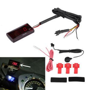 Digital Red LED Display Engine Tachometer 0-20000 RPM Gauge for Race Motorcycle