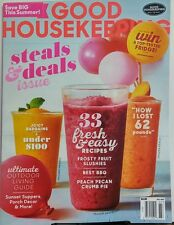 Good Housekeeping Jul 2017 Steals & Deals Issue Save Big Summer FREE SHIPPING sb