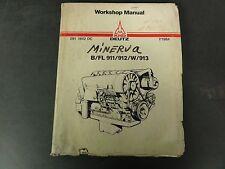 KHD Deutz B/FL 911/912/W/913 Workshop Manual