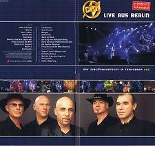 "City ""Live aus Berlin"" Tempodrom-Konzert 2002 erstmals auf CD+Extras! 2 neue CD!"