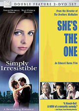 Simply Irresistable/Shes the One (DVD, 2006, 2-Disc Set) DISC IS MINT