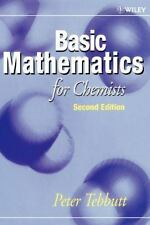Basic Mathematics for Chemists by Peter Tebbutt (1998, Paperback, Revised)