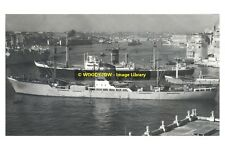 rp11867 - German Cargo Ship - Aldebaren & UK Ship Oakmore - photo 6x4