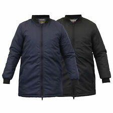 boys jacket school Brave Soul MA1 long winter coat padded lined quilted kids