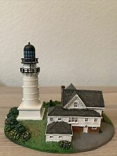 The Danbury Mint- Cape Elizabeth lighthouse, Maine. Great Condition. Pre- Owned