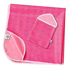 Splash Mat by TotsAhoy!® Lightweight Under Highchair Baby Weaning Floor Pink