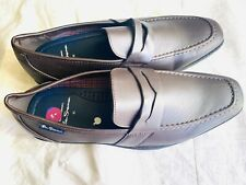 Brand new Ben Sherman Men's Shoes Brown Leather Loafers Uk 9 EUR43  RRP £85