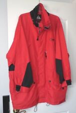 "Stig Extreme Weather Apparel VTG 80'S Winter Coat XL RED 56"" Chest XLNT!!"