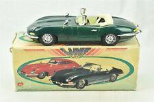 Luxe Car MF 341 Green Jaguar Convertible Sports Car w/ original box
