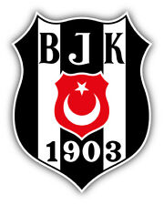 Besiktas Jk Fc Turkey Soccer Football Car Bumper Sticker Decal 4 X 5